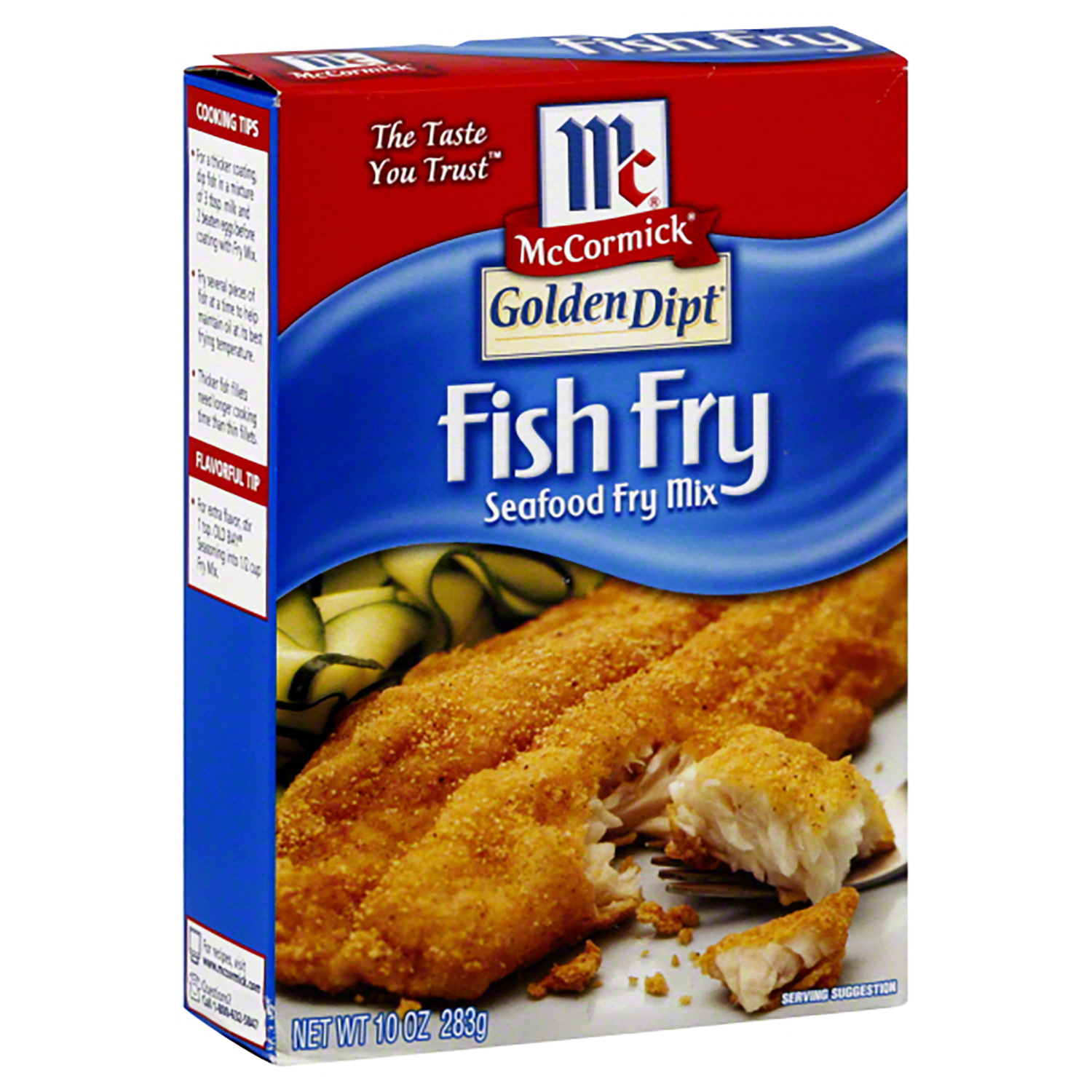 Fish fry mccormick brand stavis seafoods for How to season fish for frying
